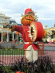 Halloween scarecrow at Magic Kingdom