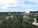 View of Magic Kingdom from 4th Floor of Contemporary Resort