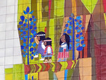 Mary Blair mural in Contemporary Resort