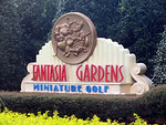 Sign for Fanrasia Gardens Miniature Golf