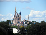 Cinderella Castle and Astro Orbiter