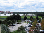 View of Ferry and Grand Floridian from 4th floor of Contemporary Resort