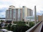 View of Bay Lake Tower from 4th Floor of the Contemporary Resort