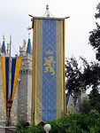Banner outside Castle