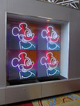 Neon Mickey Mouses at the Contemporary Resort