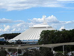 View of Space Mountain from Contemporary Resort